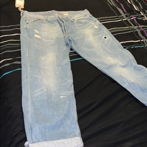 H&M's Boyfriend loose waist loose leg jeans